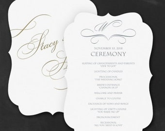 100 Wedding Programs