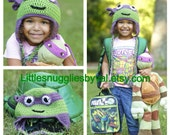 LSBV Ninja Turtle Hat. Select your Bandana Color. Multiple Sizes. Made to Order.