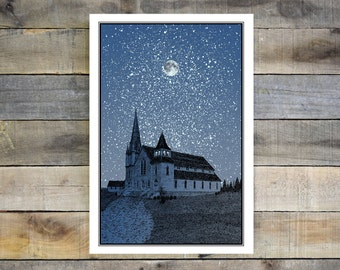 Giclee Print of Old Church
