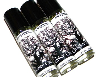 OCTOBER OAK Halloween Perfume
