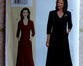 Dress Sewing Pattern UNCUT Vogue 7472