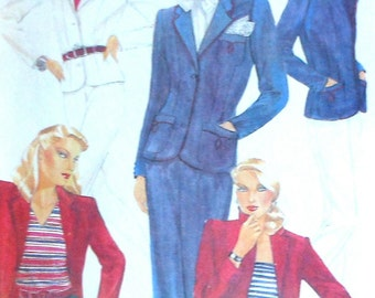 Vintage Jacket, Shorts, Pants, and Skirt Sewing Pattern McCall's 6928 Size 12 UNCUT