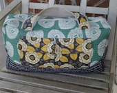 Super Cute Quilted Duffle Bag Tote Carry On