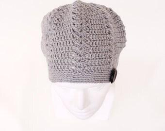 Chervil - Lace Crochet Hat - Crochet Beret Pattern - Crochet Beanie Pattern - Women's Hat Pattern - One Skein Project