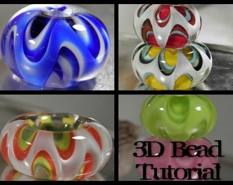 3D Lampwork Bead Tutorial,