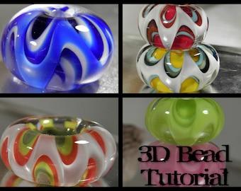 3D Lampwork Bead Tutorial,