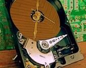Computer Hard Drive Desk Clock