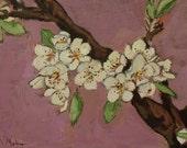 Blossoms Original Acrylic Painting Free Shipping