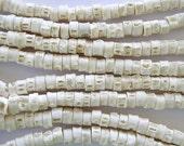 Fish Vertebrae Beads 4mm - 3 foot strand (B7012)