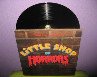Vinyl Record Album Little Shop of Horrors Film Soundtrack 1986 Musical Comedy