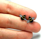 Lil' Bumblebees, Stud Earrings