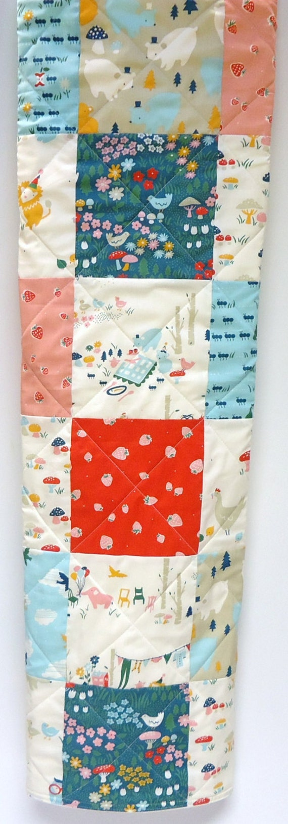 Baby quilt gender neutral organic birch fabric everyday for Unisex baby fabric