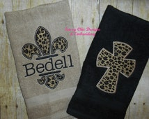 Popular Items For Animal Print Towels On Etsy