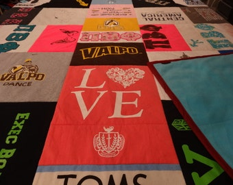 Custom T-Shirt Quilt  STADIUM BLANKET