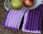 CROCHET PATTERN-Tideway, Dishcloth Pattern