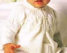 Knitting Patterns Hats For Beginners : Unique baby sweater pattern related items Etsy