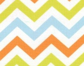 Mixed Bag by Studio M for Moda Fabrics, Zig Zag Sprouts, 1/2 yard