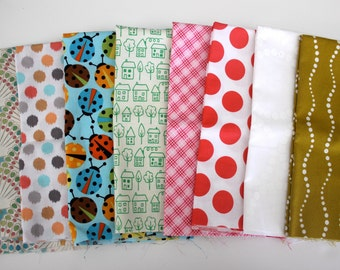 8 Custom Fat Quarter bundle,  One Available