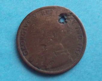 1911 Canadian Large Cent Charm