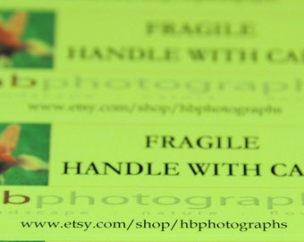 Labels - FRAGILE  Handle with Care personalized labels