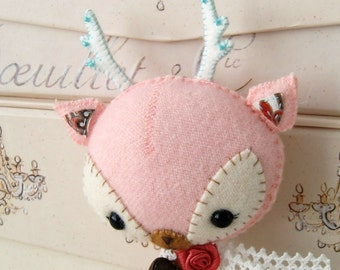 Woodland Deer PDF Pattern - Instant Download