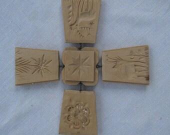 Hand Carved German Springerle Cookie Mold