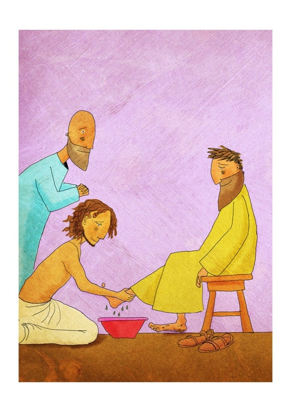 The Jesus Storybook Bible - Signed Print (Page 288 - 289)