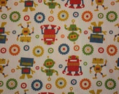 Robot fabric yardage