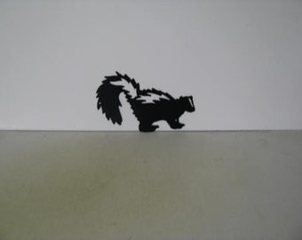 Skunk 004 Metal Wildlife Farm Wall Yard Art Silhouette