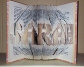"Custom folded book -"" CULPEPPER"""