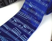 Musical Men's Necktie - Premium Quality Microfiber Tie - Gift Wrapped - Choose color and quantity