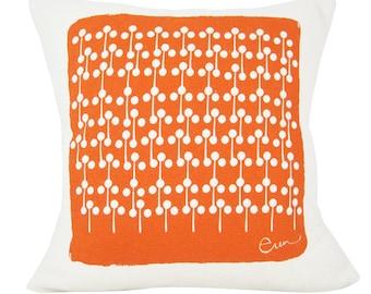 Lolly Pop 20in Pillow in Mango Orange