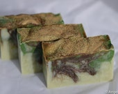 Haitian Vetivert Organic Shea Butter Handcrafted Soap * Boho * Rustic * Exotic * Luxury * Men * Women *