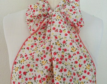Multi Use Georgette Hair Scarf - Vintage Inspired Blossoms