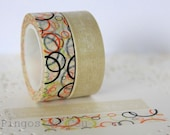 Round Washi Tape. Ready to Ship.