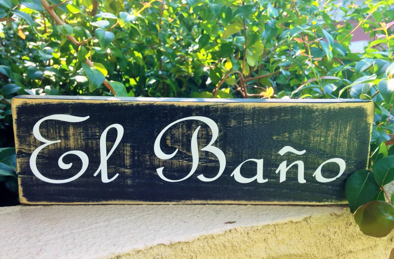 12x4 el bano choose color custom rustic shabby chic wood - Bano shabby chic ...
