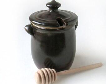 Brown Honey Pot