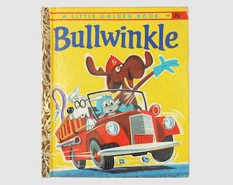 1962 Bullwinkle Golden Book, Vintage Golden Books, Bullwinkle Book, Children's Book, Golden Books, Mid-Century Books by NewYorkBookseller
