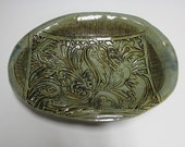 Oval Handbuilt Stoneware Dish