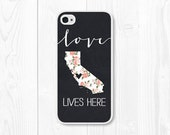 Gift Mom Wife Gift Gift Sister iPhone 6 Case Girlfriend Gift iPhone 6s Case State iPhone 5s Case iPhone 5c Case Samsung Galaxy S6 Case