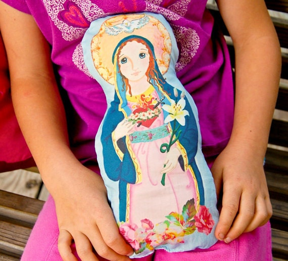 Immaculate Heart Soft Doll