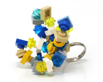 ALEXANDRIA Mix ring made with LEGO bricks