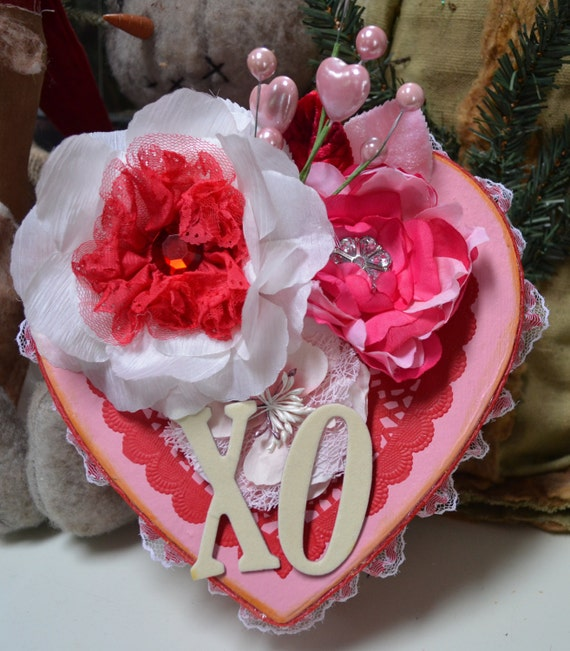 Handmade Valentine's Day Keepsake Box.  ECS