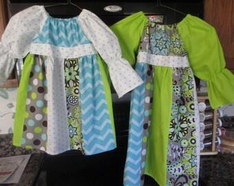 Custom Patchwork Dresses