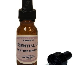 0.6 oz w/ dropper Catnip Essential Oil 100% Pure Organic