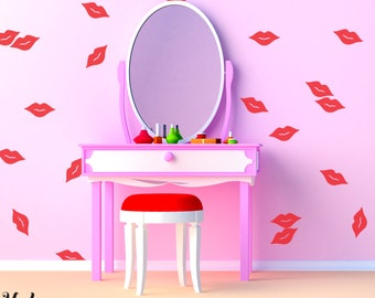 Vinyl Wall Sticker Decal Art - Little Lips
