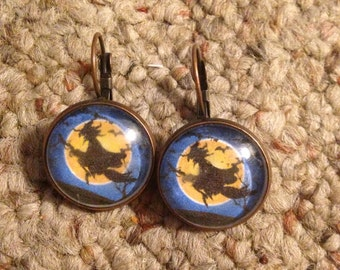 Witch in the Moonlight Earrings