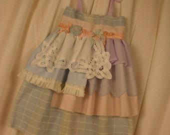 Shabby Chic Childrens Dress size 2 from My New Les Miserables Collection