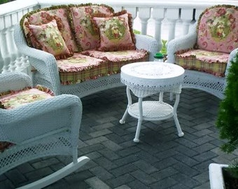 Cottage Shabby Outdoor Cushions