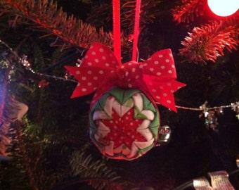 Folded Christmas Star Ornament